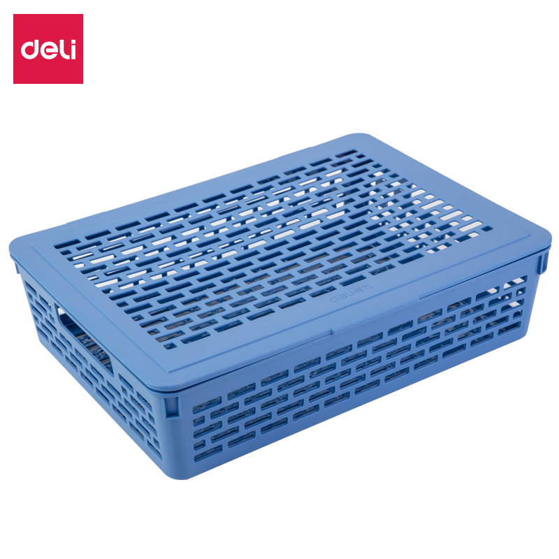 得力 923 公文篮 (单位:只) 蓝色