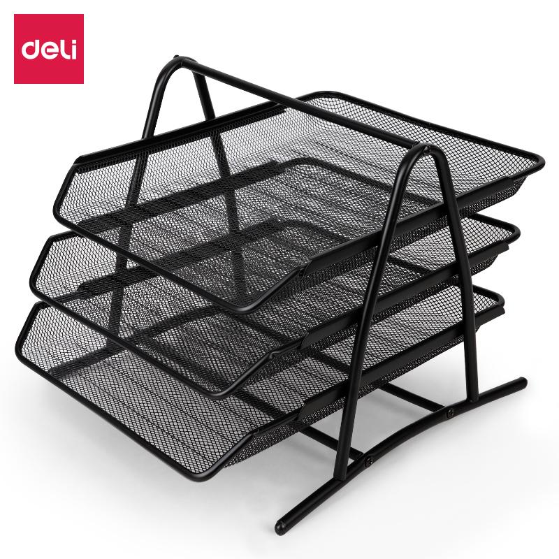 得力 9181 文件篮  (单位:只) 黑