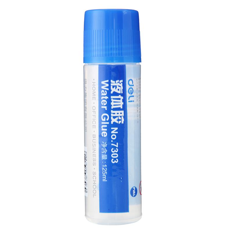 得力 液体胶 7303 (无色)(瓶)
