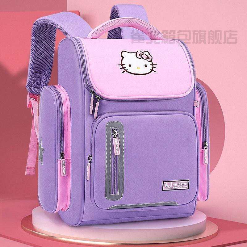 博采女生书包紫色大号(拉链侧袋)(单位:个)