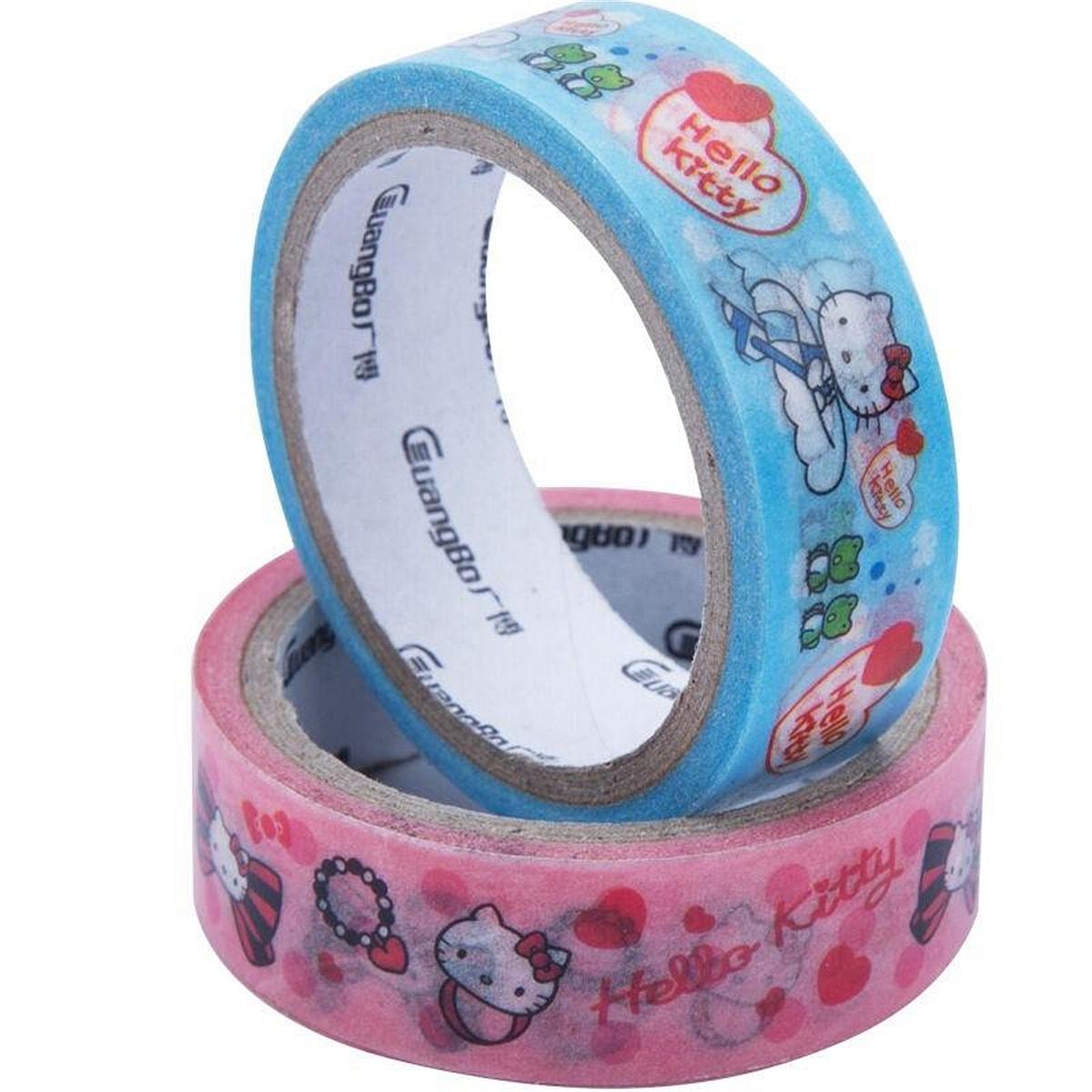 广博KT86105和纸彩色胶带1个/卡(卡)