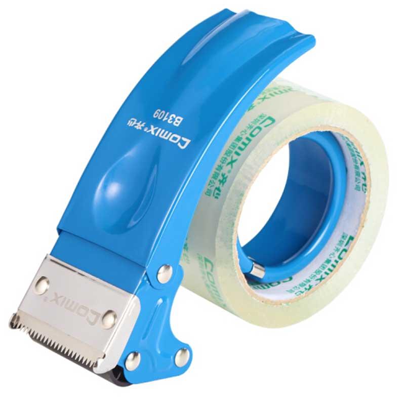 齐心B3109封箱器打包器/ 适用于胶带宽度48mm内胶带切割机 (个)