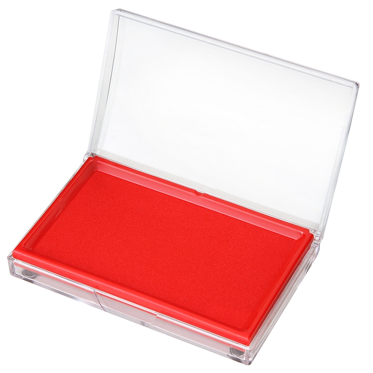 得力快干印台9864(红)(只)