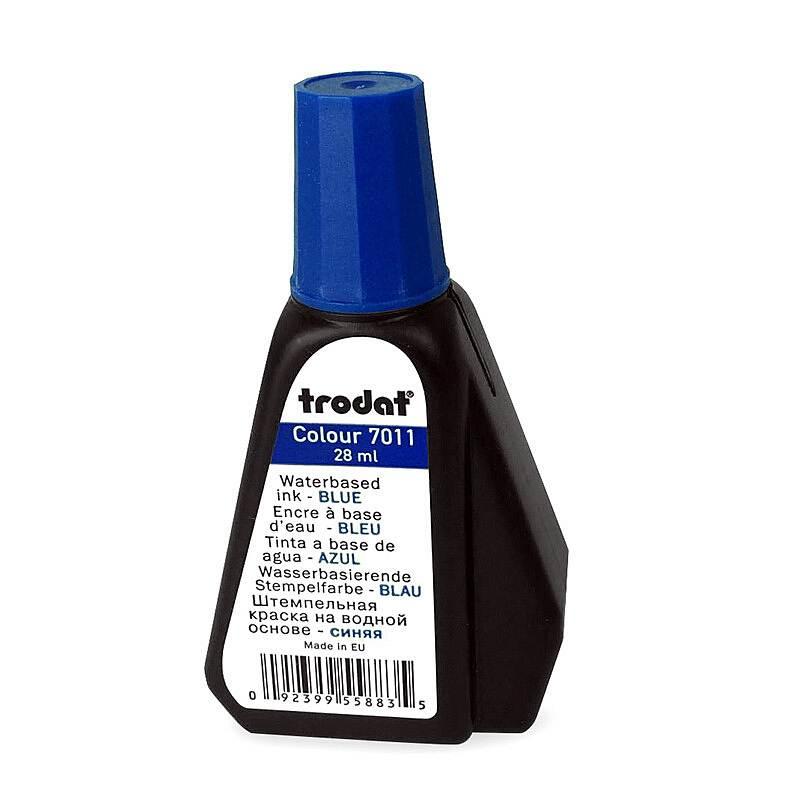 卓达7011回墨印油蓝28ML(单位:瓶)