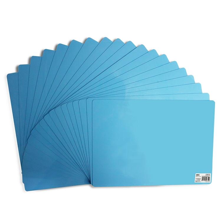 得力9354复写板垫板(蓝)(块)