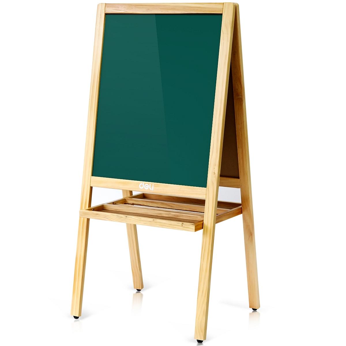 得力7894A型儿童画板 白板1080*520(黄)(块)