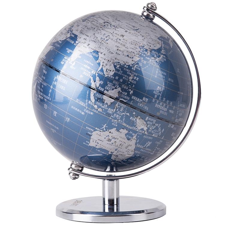 得力2161地球仪(蓝色)