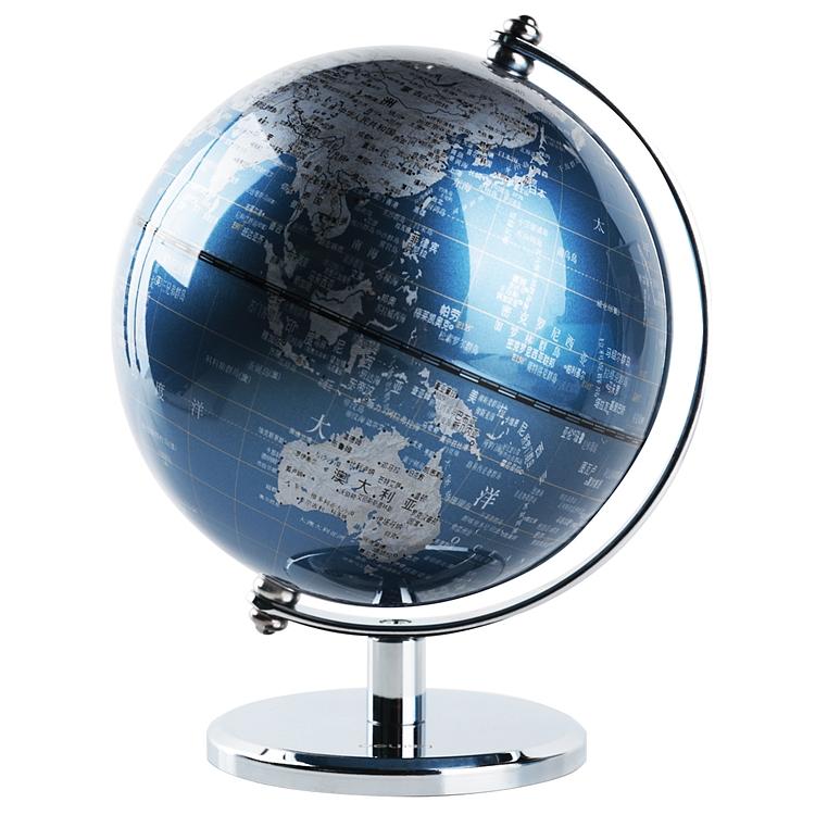 得力 2160 地球仪 13cm (单位:只) 蓝色