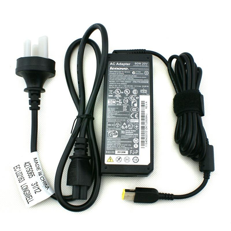 联想ThinkPad 原装0B47008笔记本充电器电源适配器X1Carbon90W(方口)