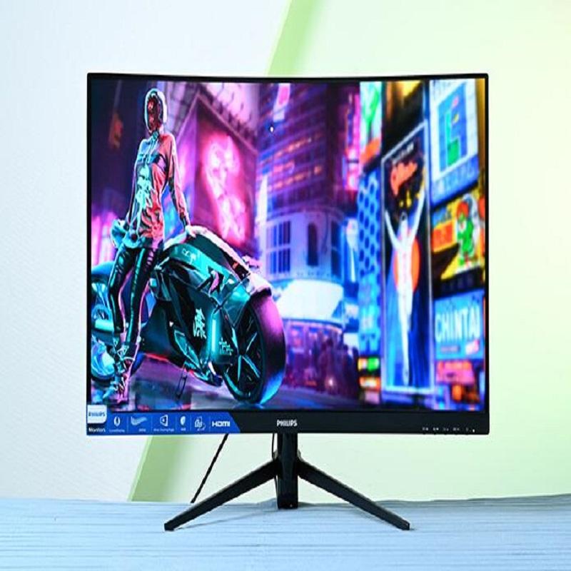 飞利浦272M8CP显示器 27英寸 曲面屏 240Hz广色域黑色(单位:个)