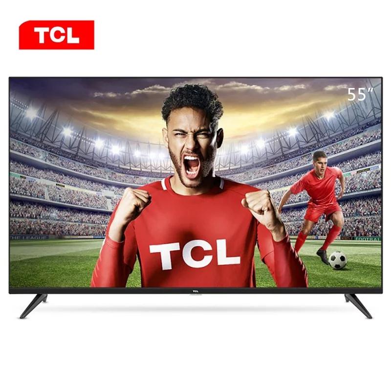 TCL 55F6 55英寸 平板电视 黑色