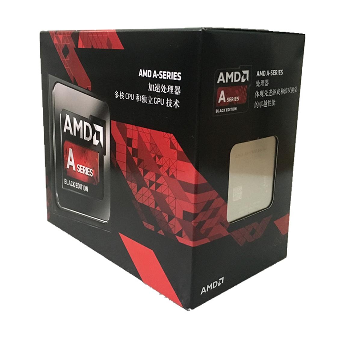 AMD A8 7650k盒装 CPU 3.3GHz/3.8GHz (单位:个) 银色