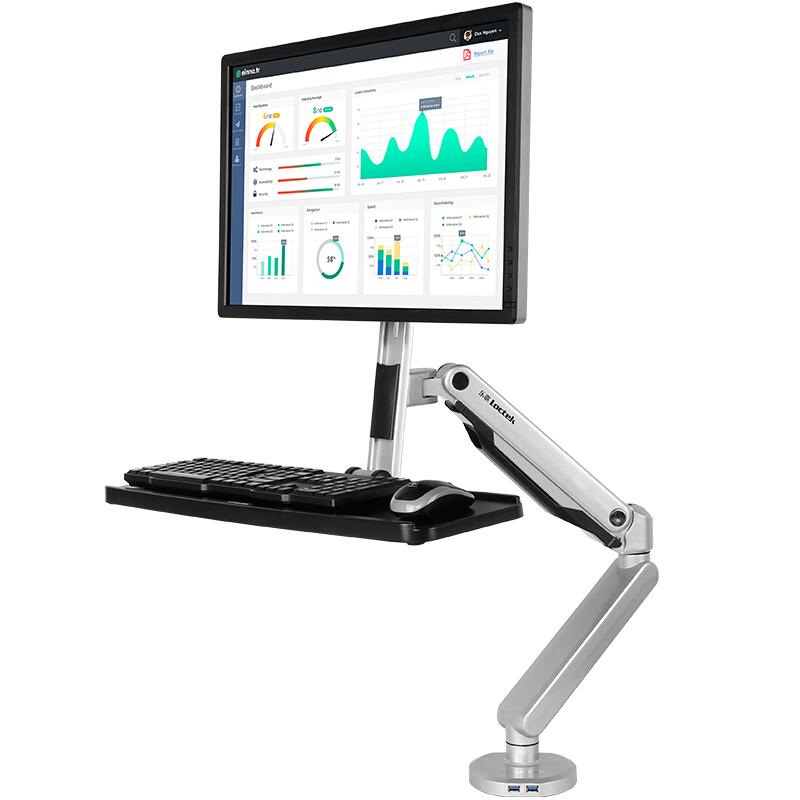 乐歌 W5A站立式电脑架显示器支架(个)