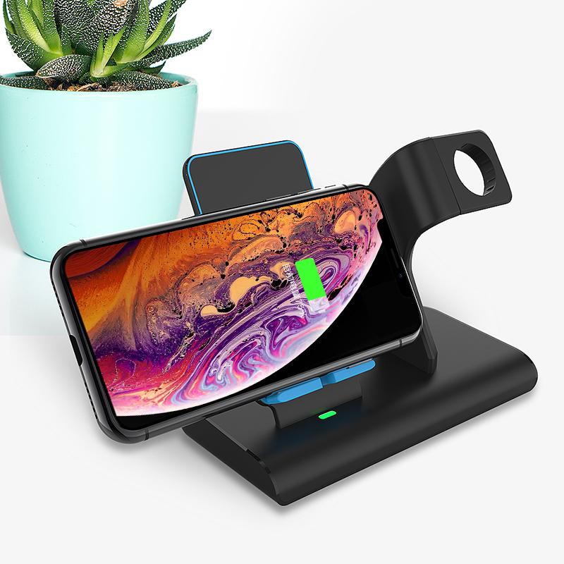 美逸W4无线桌面二合一手机无线充+iwatch充电支架(单位:个)
