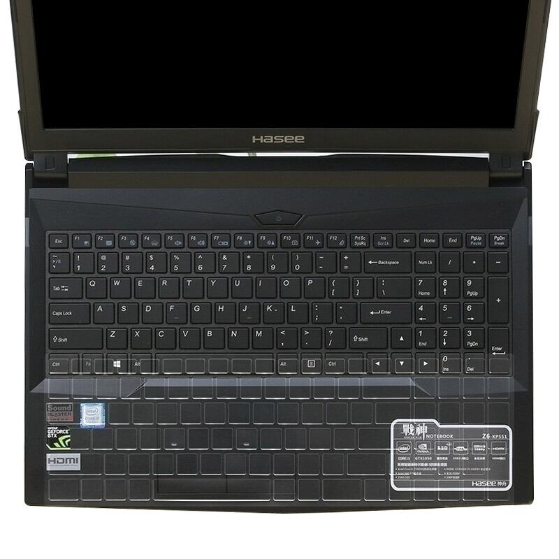 宜客莱 EZ003 键盘膜神州战神Z6Z7M/机械师T58/高透(张)