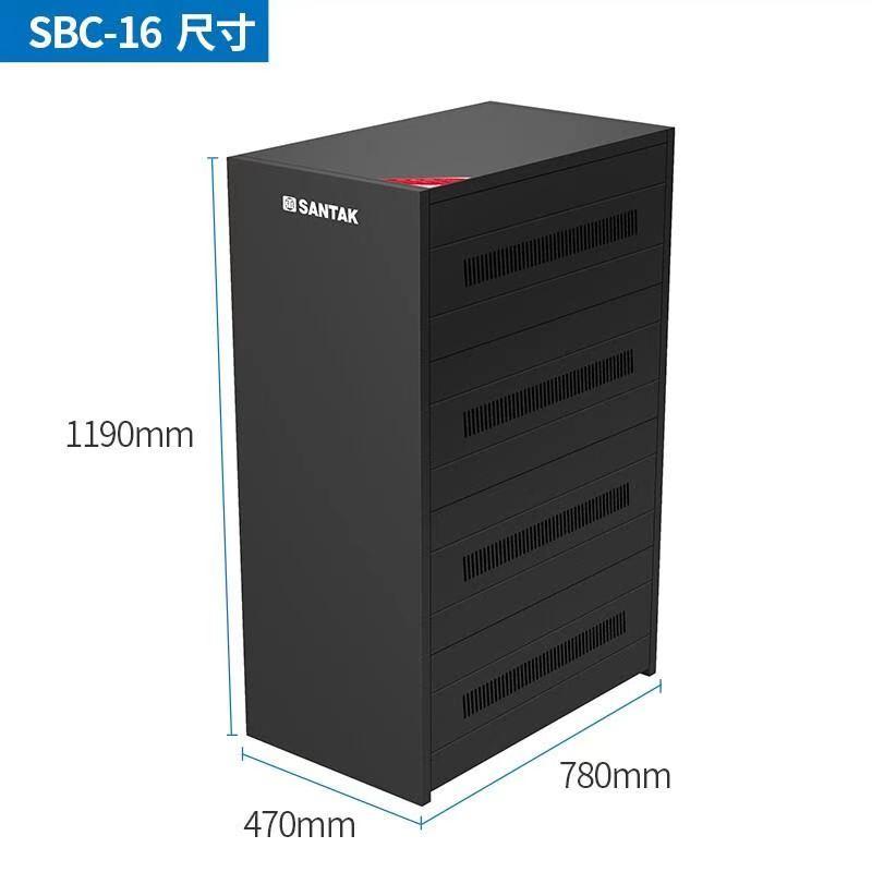 山特A16电池柜装16节(单位:个)