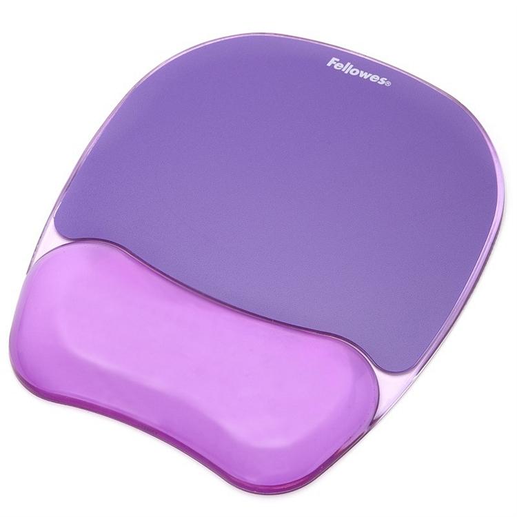 范罗士 91441 水晶硅胶鼠标垫 235x202x25mm (单位:个) 魅惑紫