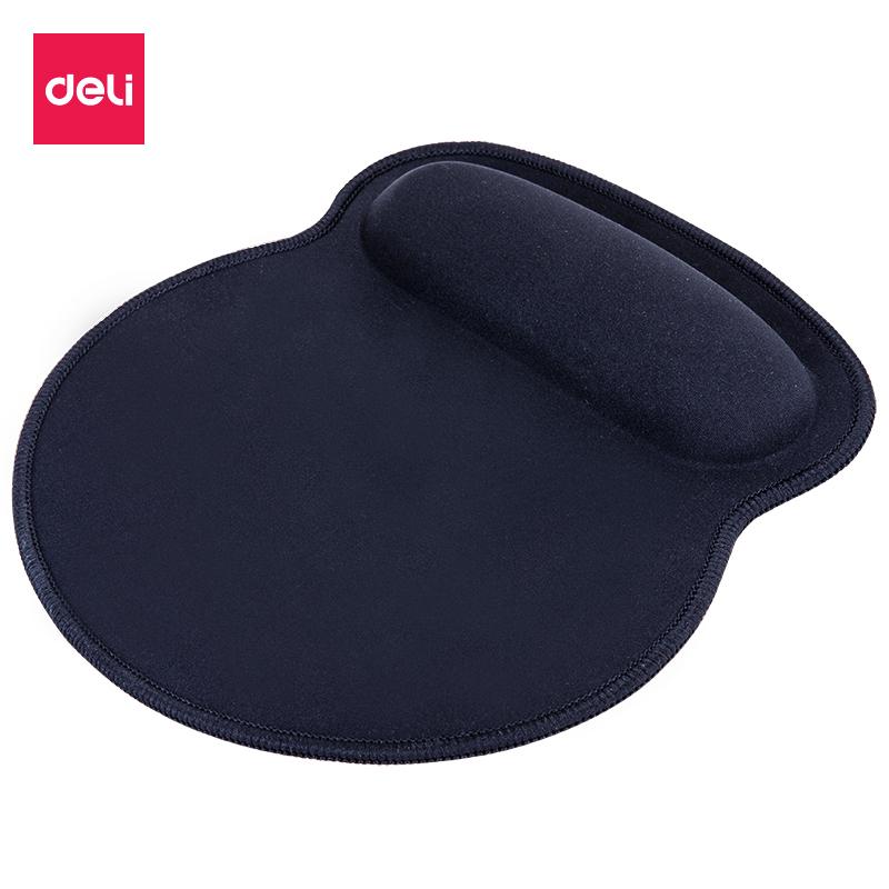 得力 2225腕托鼠标垫 黑色 (单位:个)