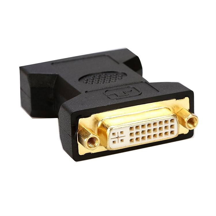 联刀 D030601 转换头DVI母/DVI母  (单位:只) 黑色