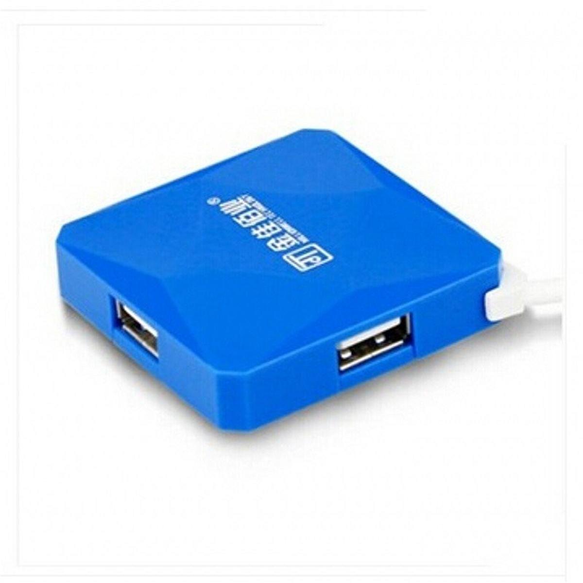 金佳佰业 水立方 USB-HUBUSB集线器 1.2M (单位:卡) 蓝色