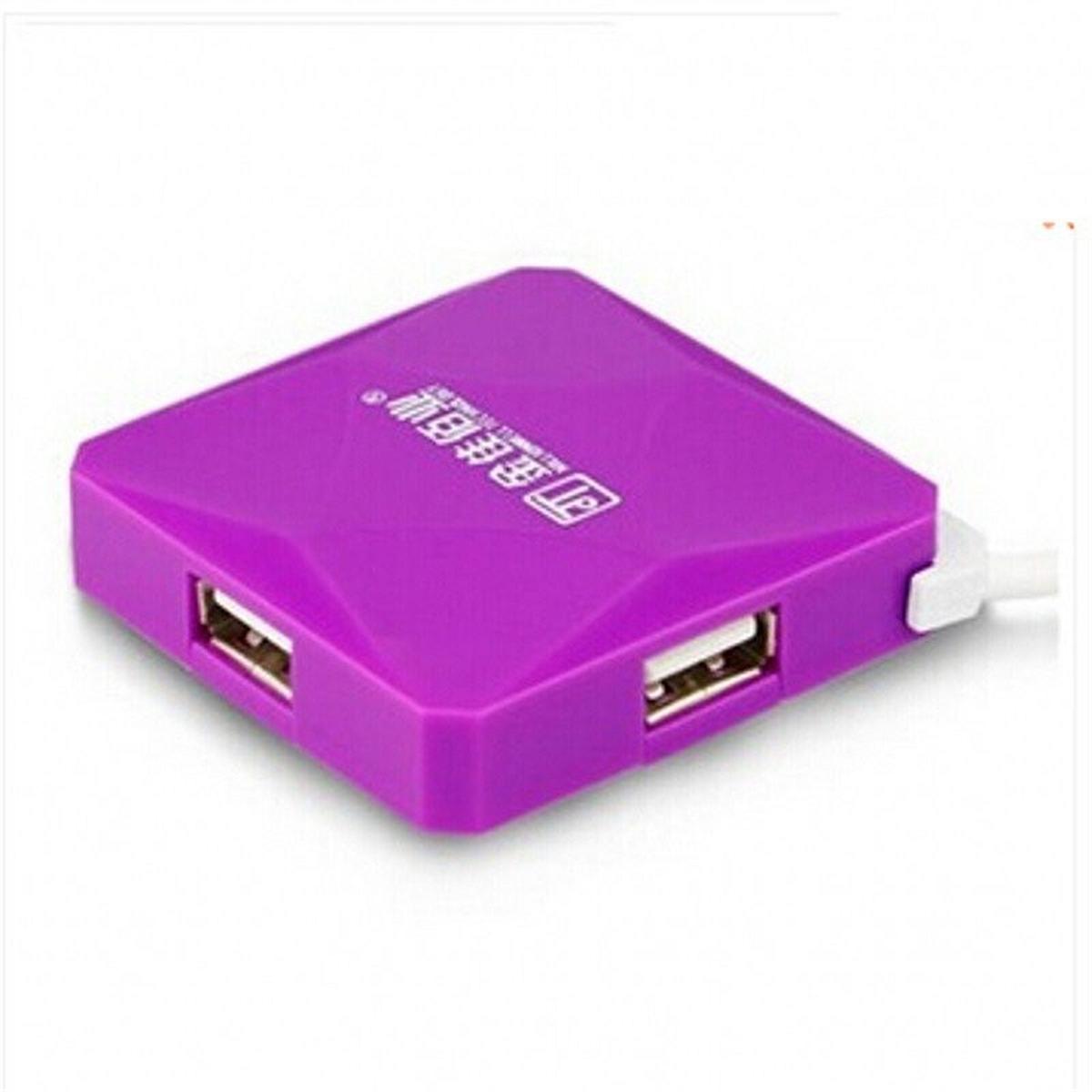 金佳佰业 水立方 USB-HUBUSB集线器 1.2M (单位:卡) 紫色