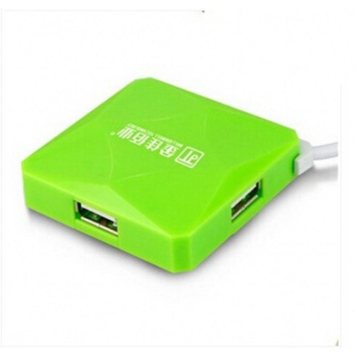金佳佰业 水立方 USB-HUBUSB集线器 1.2M (单位:卡) 绿色