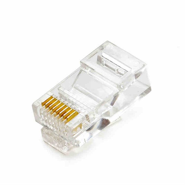 爱谱华顿AP-S-03W超五类水晶头100个/盒(单位:盒)