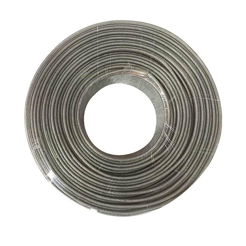 捷讯XC-ES1501.5高品质无氧铜音响线(卷)透明金银色