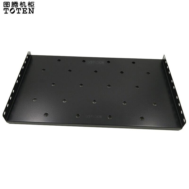图腾275固定板机柜配件适合600深K/G系列/W/450深黑色(块)