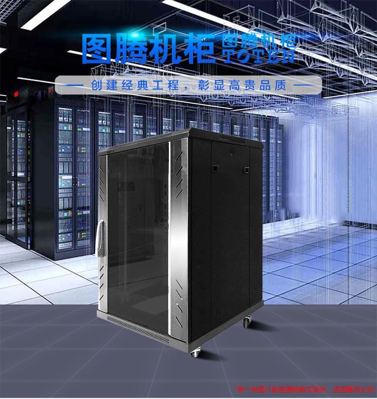 图腾 TOTEN G2.6032 服务器机柜 19英寸 黑色 32U1.6米(台)
