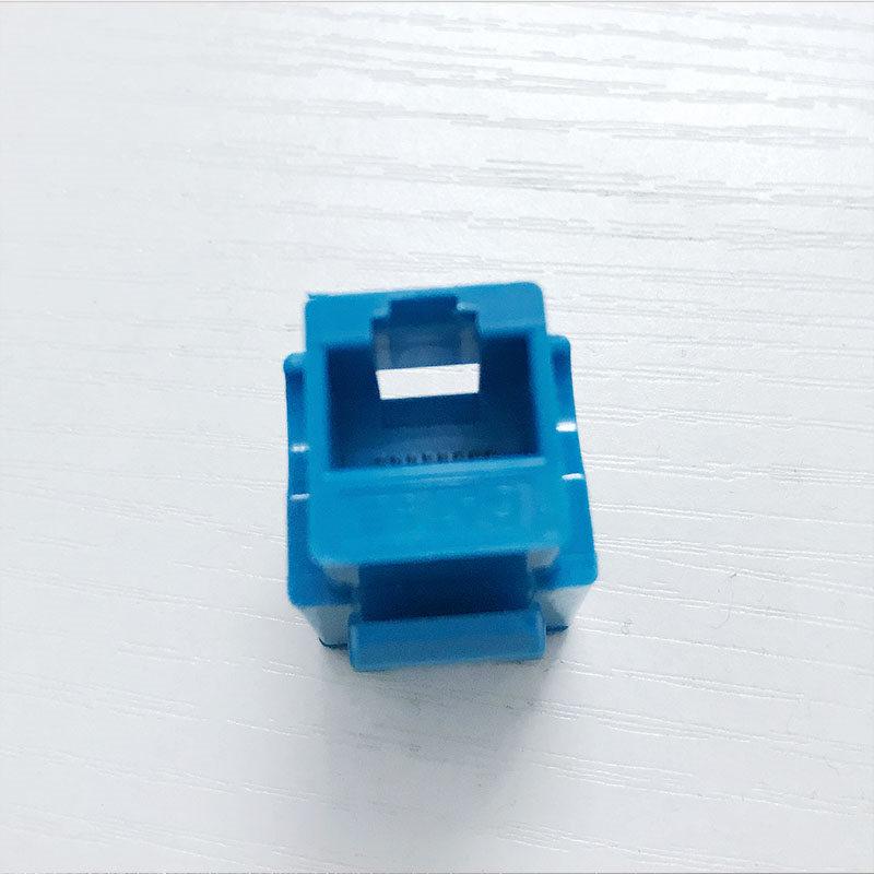 中云智创RJ45超五类非屏蔽模块蓝色 (单位:个)100只起售