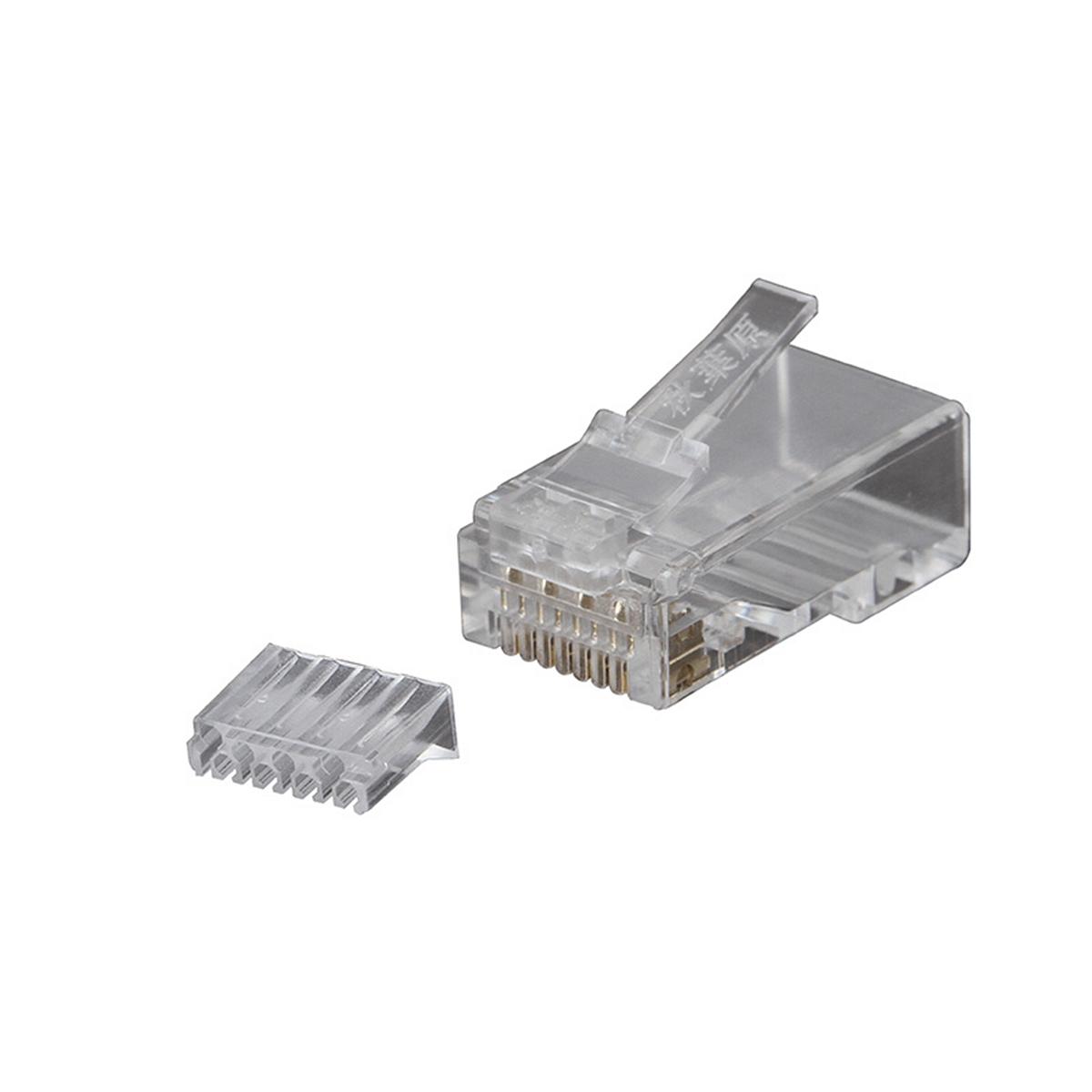 秋叶原QS6015/RJ45水晶头超五类非屏蔽100个/盒(盒)