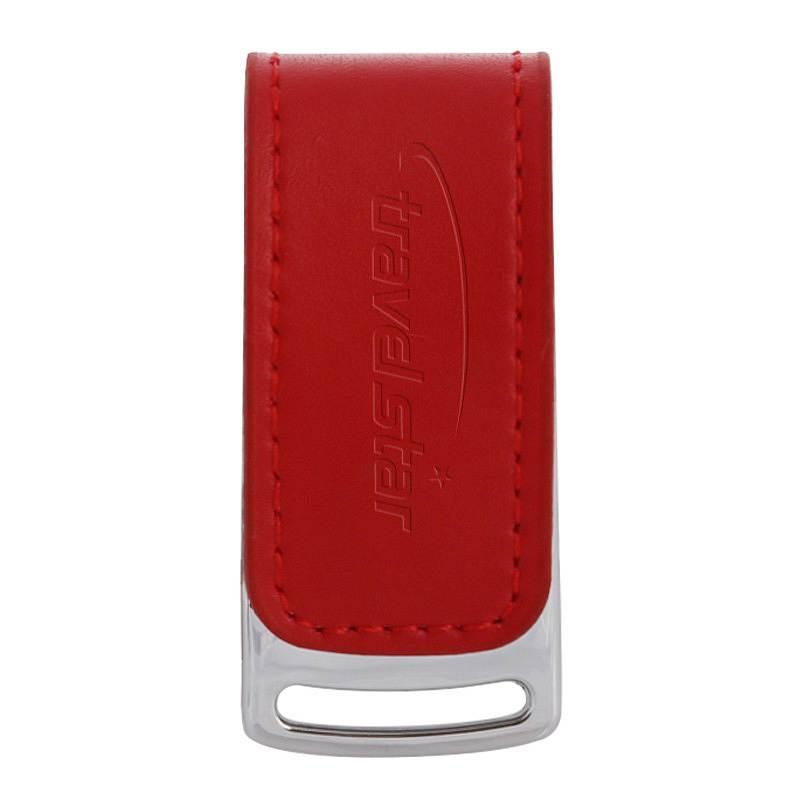 旅之星 权盾数据防拷贝防复制系统加密U盘 红色 8G/USB2.0 (单位:个)