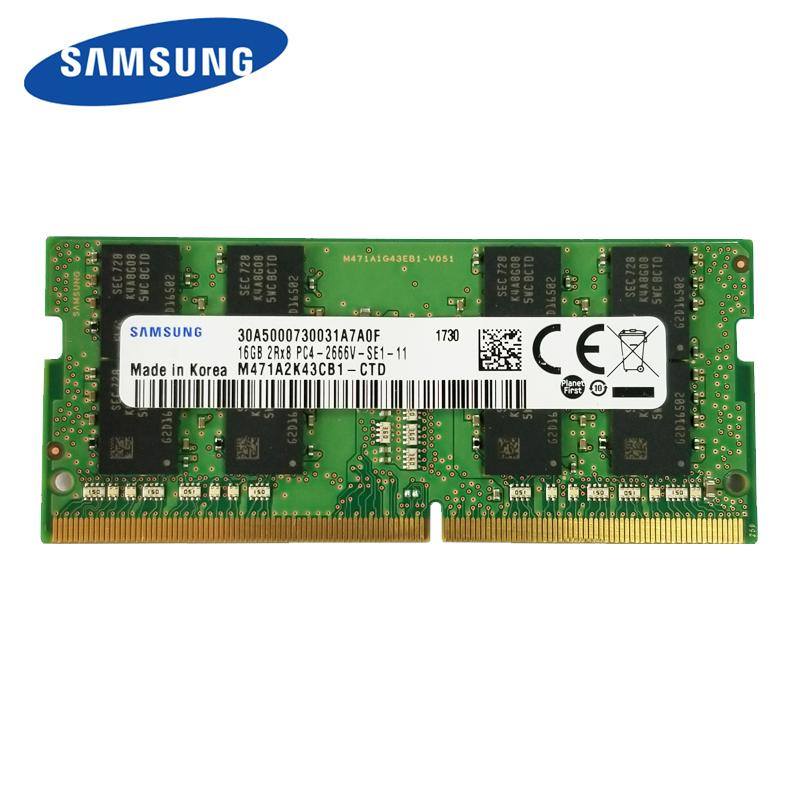 三星DDR4 2666笔记本内存条16G(个)