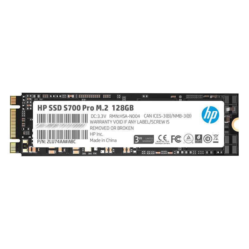 惠普S700 PRO系列固态硬盘128G/M.2接口(SATA总线) (个)