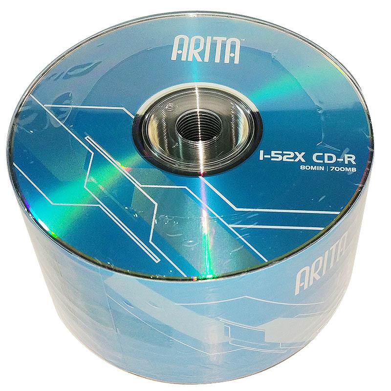 铼德 52速700M/CD-R/ 蓝色存储介质光盘(50片/桶) (单位:桶)