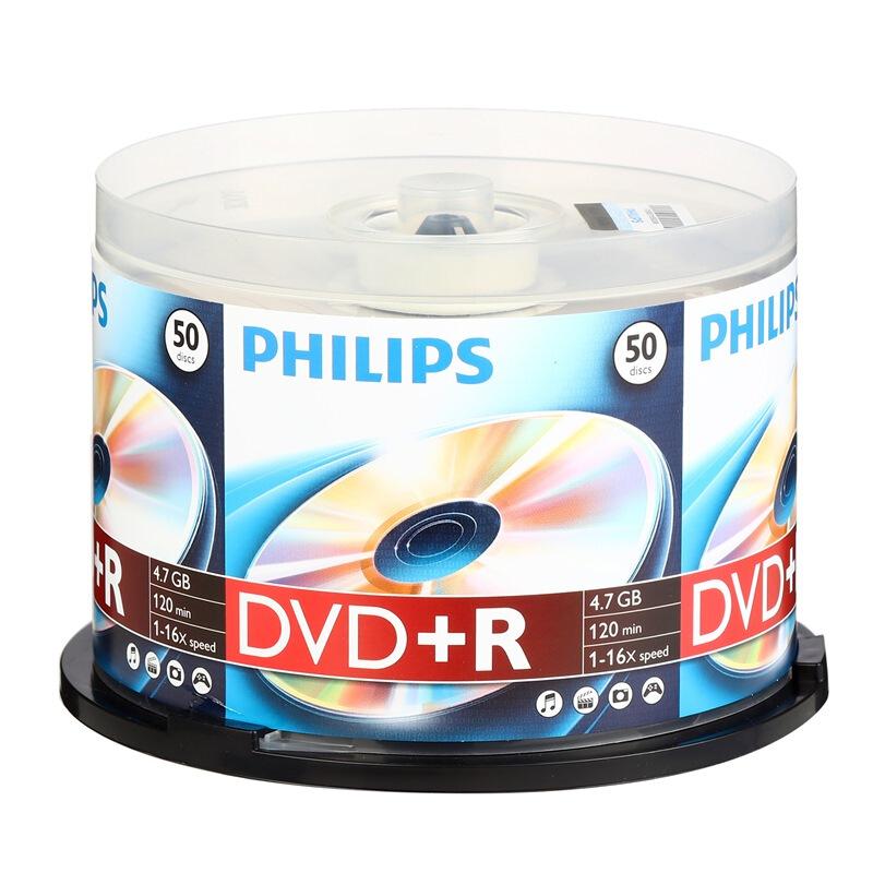 飞利浦 DVD+R 光盘 50片(单位:桶)