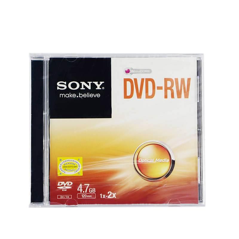 索尼 DVD-RW/1-2速4.7G刻录盘 单片装 (片)