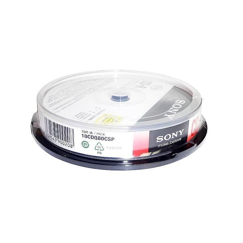 索尼CD-R/700M/1X-48X/刻录盘10片/桶(桶)