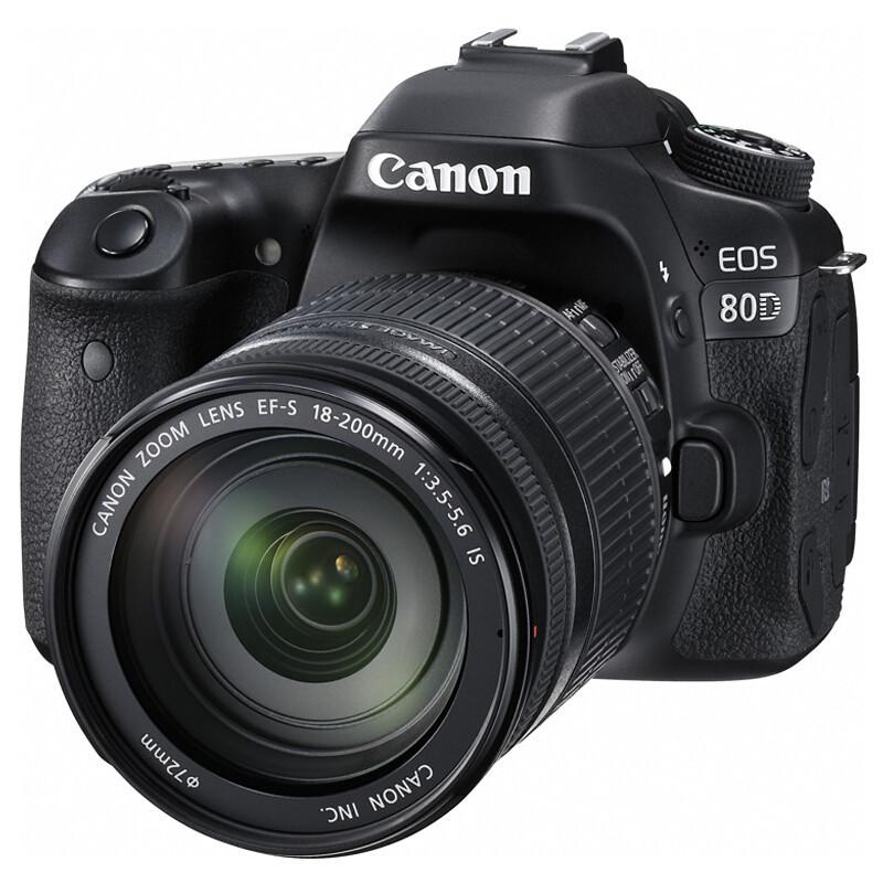 佳能 EOS80D(18-200镜头) 单反相机 (单位:个)