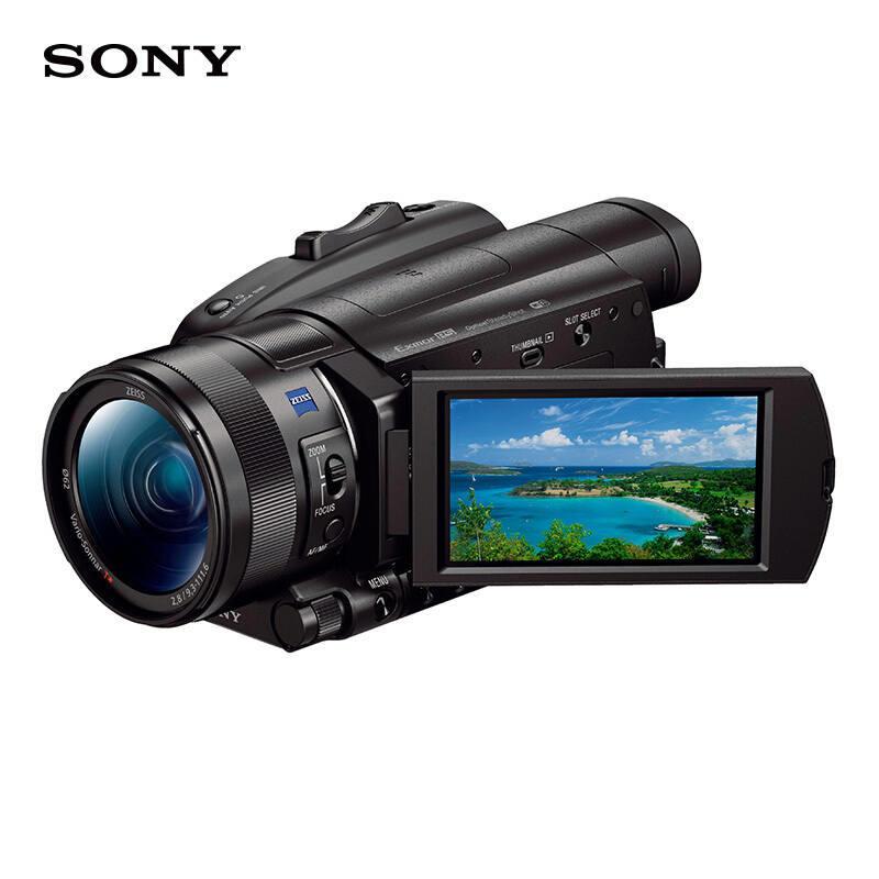 索尼FDR-AX700摄像机配64G内存卡黑色(台)