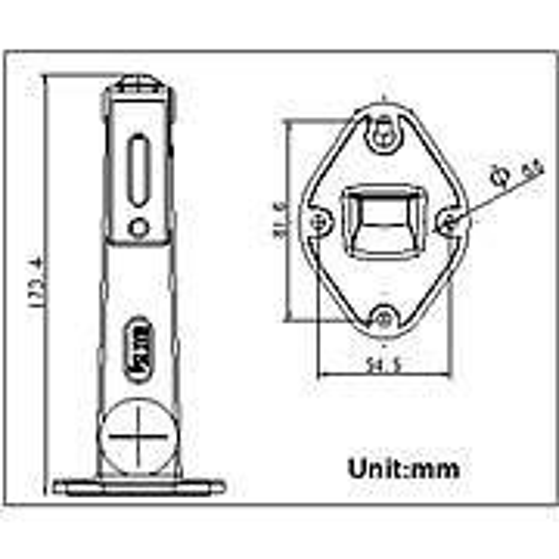 海康威视  摄像机支架壁装支架DS-1292ZJ(单位:个)