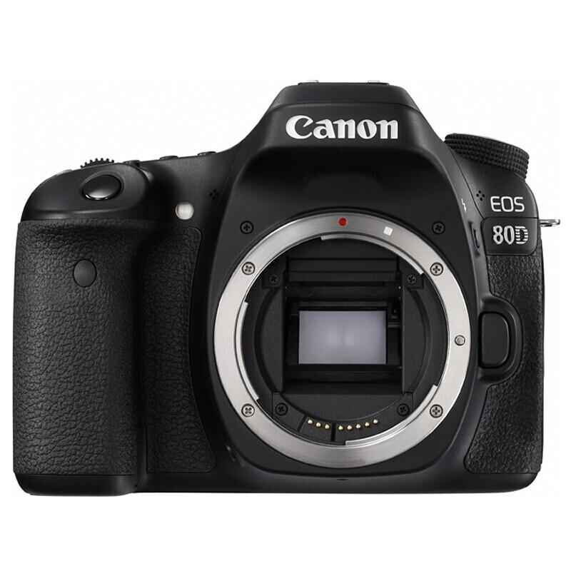 佳能EOS80D(18-135镜头/32G/212包/读卡器)数码相机(套)
