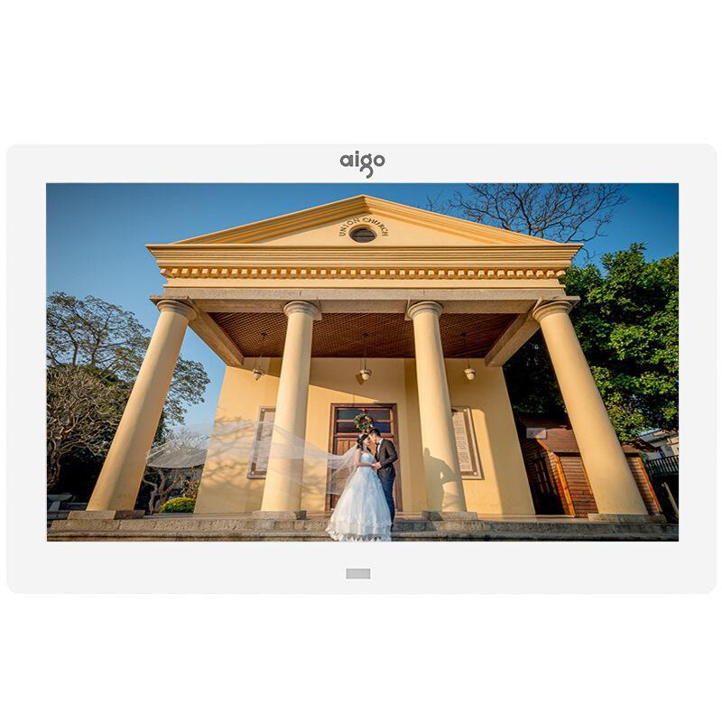 爱国者DPF101数码相框白色10.1英寸(个)