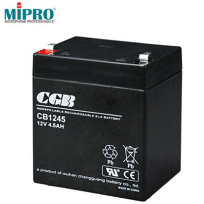 MIPRO CB1245 电池12V(单位:块) 黑色