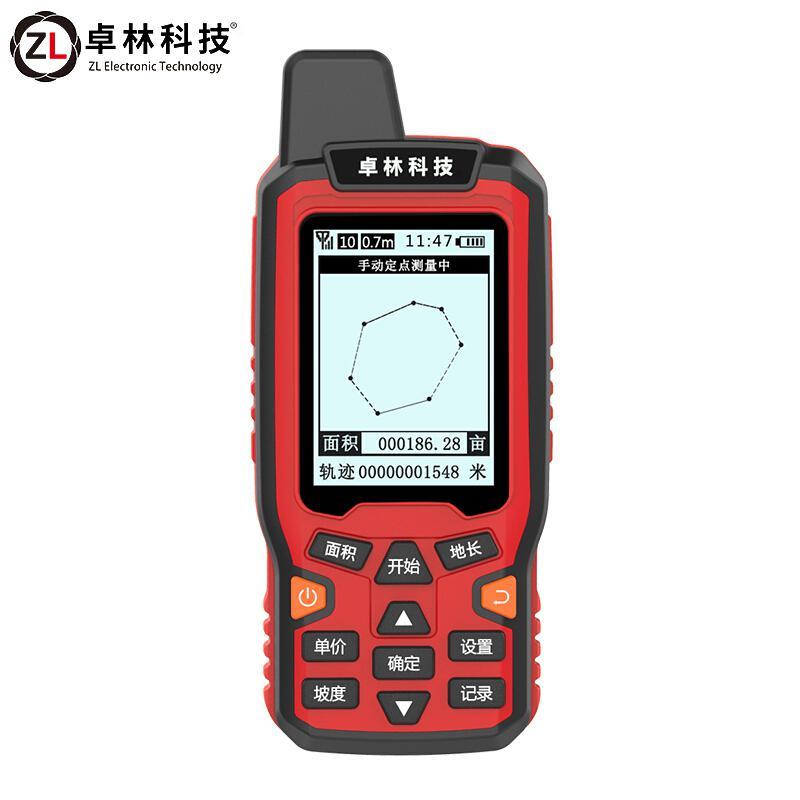 卓林科技 ZL-180 高精度手持GPS定位仪 黑色(台)