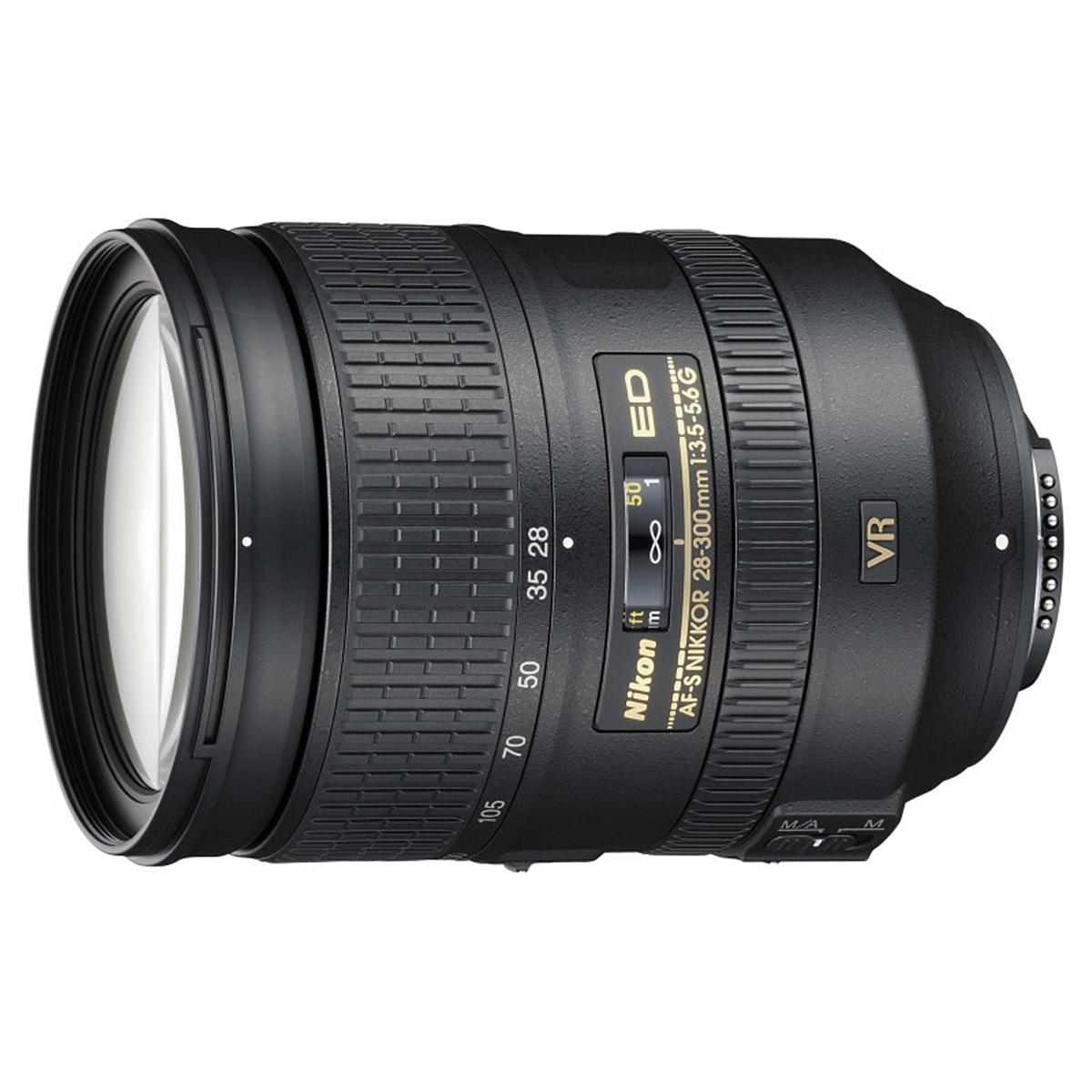 尼康(Nikon)AF-S 28-300mm f/3.5-5.6G ED VR 防抖镜头(个)