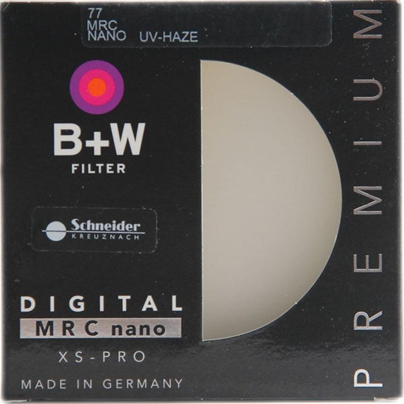 B+W uv镜 滤镜 77mm UV镜MRC NANO XS-PRO 超薄多层纳米镀膜UV镜(个)
