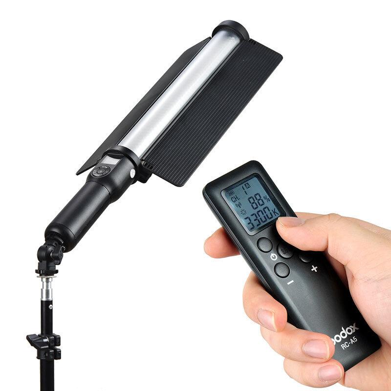 神牛LC500LED常亮摄影灯手持补光灯人像外拍视频直播录像便携棒灯(套)