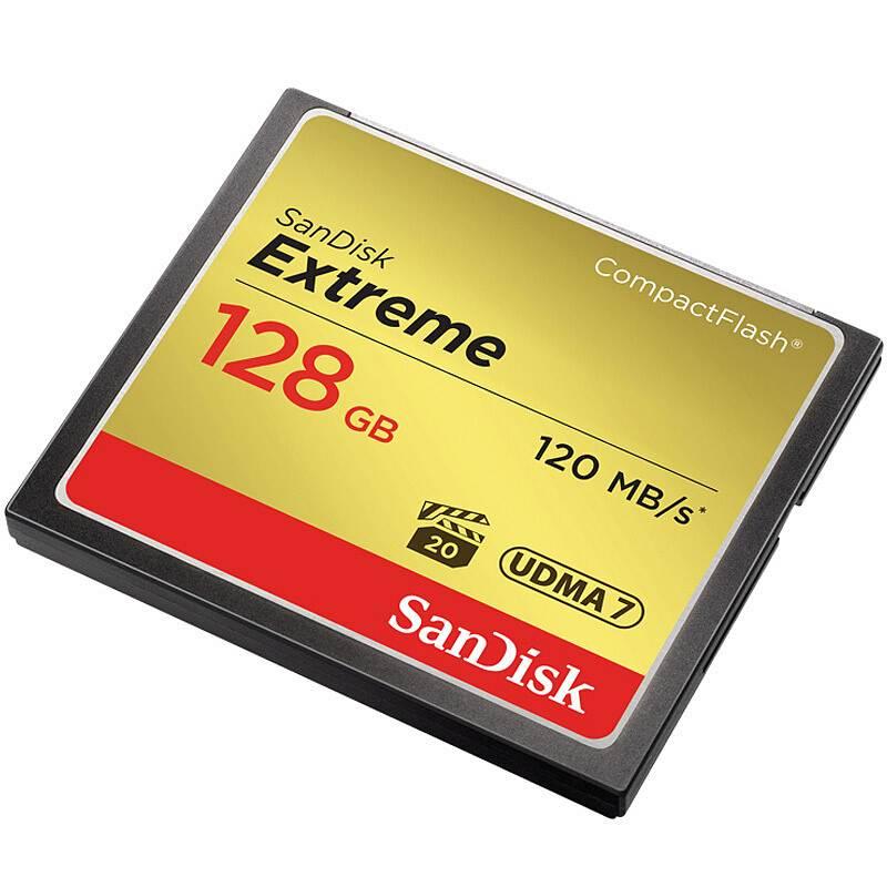 闪迪SDCFXSB-128G-CF存储卡128G至尊极速800X(个)